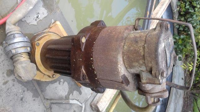 Pompa zatapialna górnicza głębinowa do szamba duża moc silnik trzyfazy