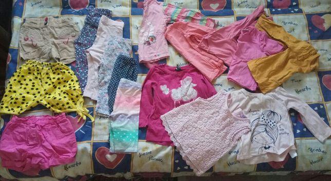 Пакет вещей на ребенка возрастом год-два