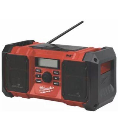 Radio Budowlane MILWAUKEE M18 DAB+ Wstrząsoodporne AUX USB