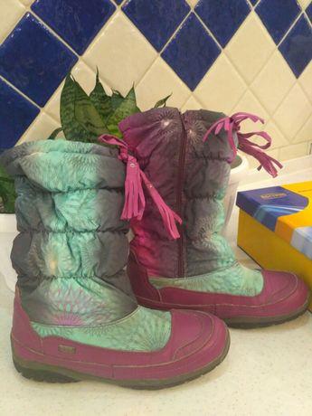 Зимові термо чоботи для дівчинки