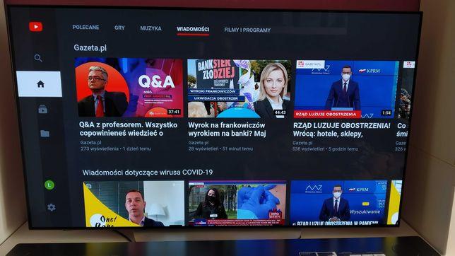 Telewizor LG OLED 65 C7V (matryca na gwarancji)
