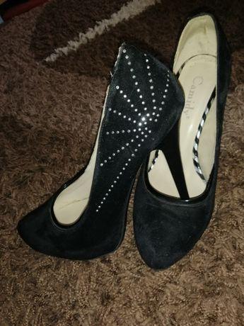 Туфли женские эко замш