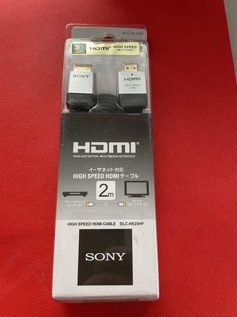 Hdmi Kabel Sony 2 m 3D 1080 Hd Nowe