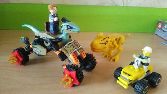 """Лего конструктор """"Jurassic world"""". Динозавры. Парк Юрского периода б/у"""