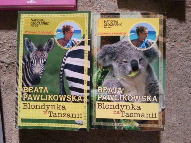 """""""Blondynka w Tanzanii """" ; """"Blondynka na Tasmanii """""""