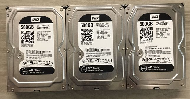 Жесткий диск WD BLACK(WD5003AZEX) 500GB SATA III 7200 64MB 3.5 - Обмен