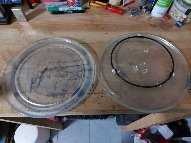 Conjunto 2 Pratos para Microondas