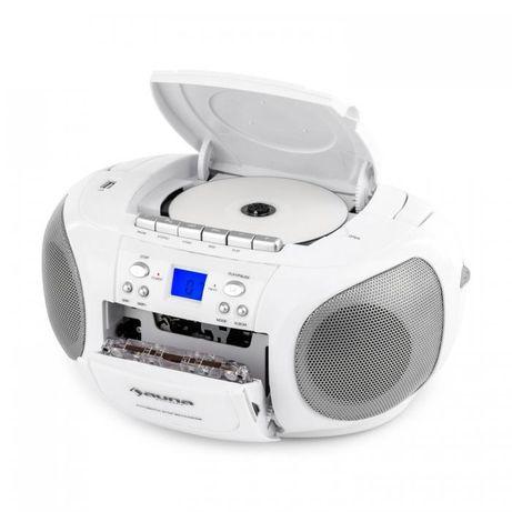 Бумбокс c Германии Комби CD MP3 USB FM-радио ЖК-дисплей + Касеты