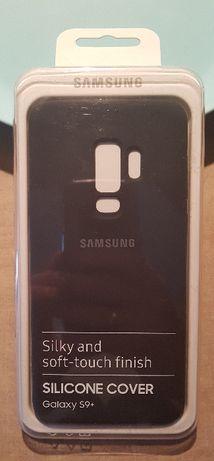 Samsung Galaxy S9+ NOWE ETUI Silicone Cover EF-PG965TB (czarny)