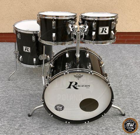 """Perkusja Rogers """"Big R"""" 22"""", 12"""", 13"""", 16"""" Black - Vintage"""