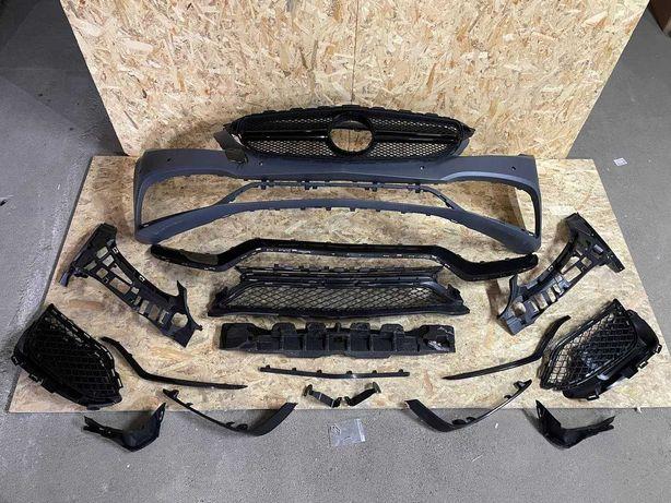 Mercedes W205 C-Class бампер передний AMG Комплект