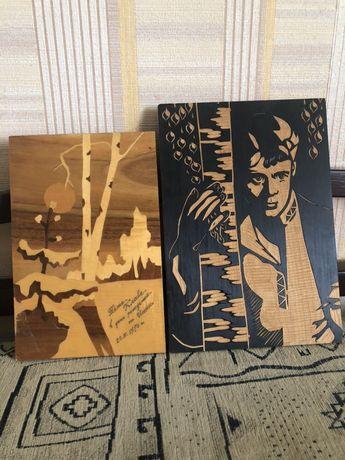 Продам деревянные картины,резальные картины.