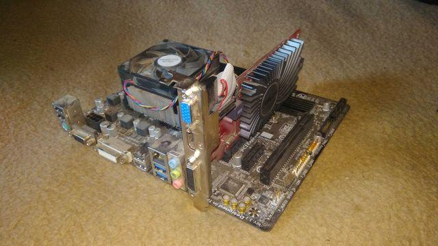 блок питания пк + процессор и видеокарта