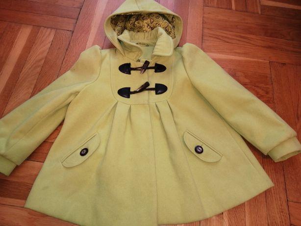 Płaszcz dla dziewczynki 122, 128, 134 St. Bernard