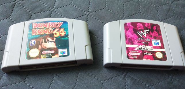 Картридж Nintendo64 n64 Nintendo Donkey Kong WWF Attitude рестлинг