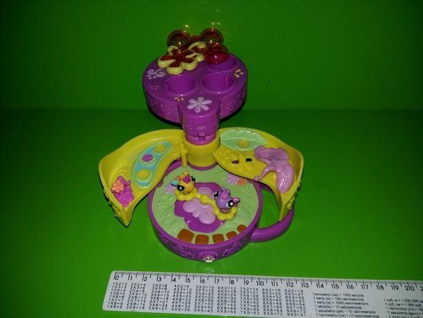 Домик для бабочек мини петшоп littlest pet shop Tiniest Hasbro lps