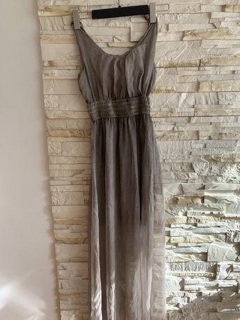 Sukienka letnia, długa