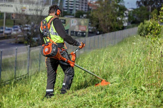 Koszenie Wykaszanie trawy zarośli chaszczy kosą spalinową Tanio