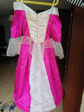 Sukienka bal karnawał Elza r. 116/122