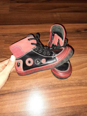 Кожаные ботинки 27р