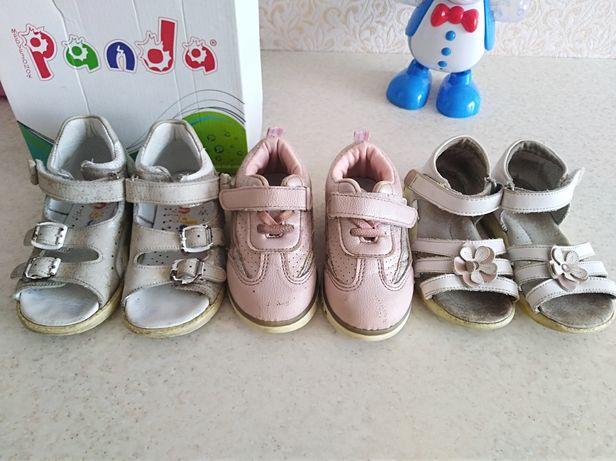 ортопедические кожаные Босоножки, сандали, кроссовки цена за всё