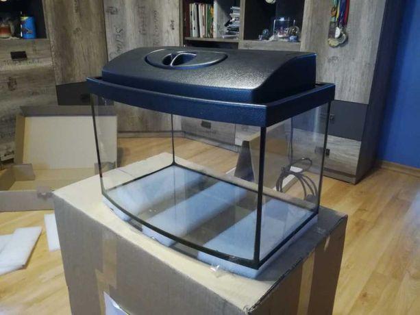 sprzedam akwarium  40x25x25 25l dla żółwia z pokrywą i światłem