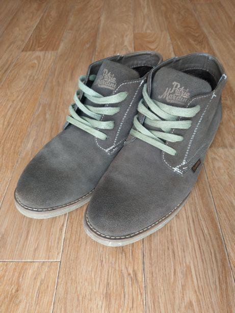 Взуття чоловіче. Ботинки шкіра 060919 хакі Patria Mardini Італія 44(р)