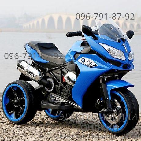 ХАРЬКОВ! В наличии Мотоцикл BMW_GS EVA, кожа - детский электромобиль