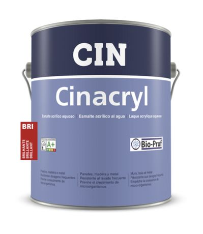 Cinacryl 4Lts branco Mate,Acetinado e brilhante