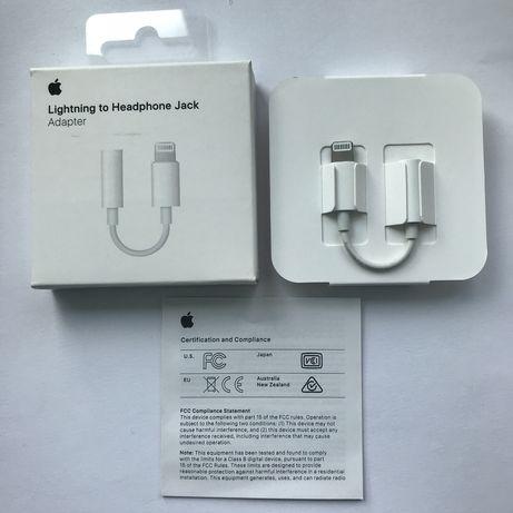 Адаптер Apple Lightning - 3.5 mm