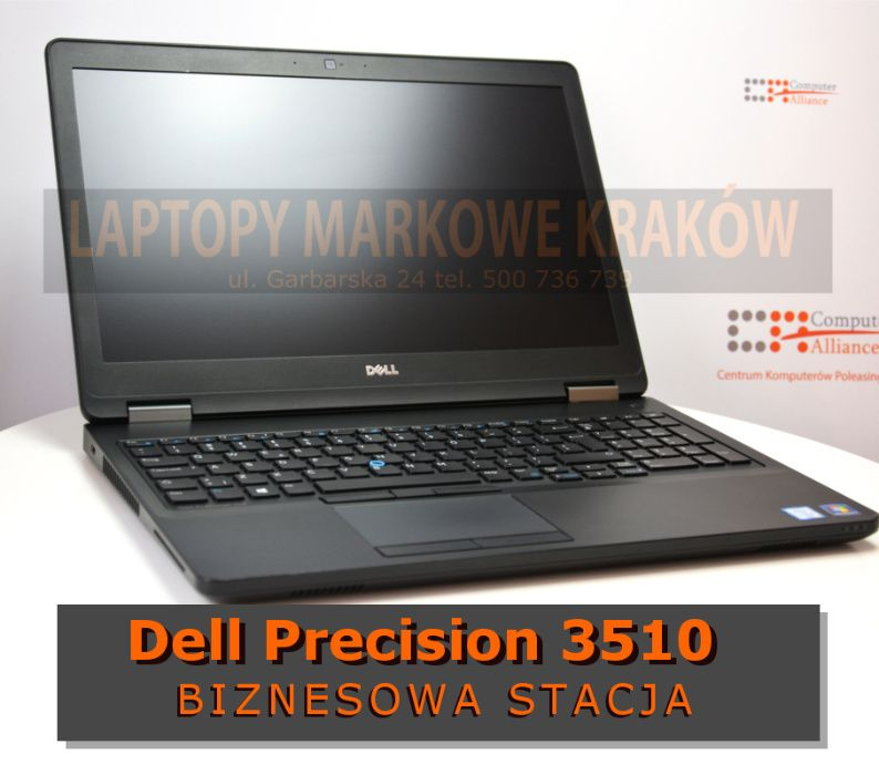 Dell Precision 3510 Core i7-6820HQ | 16GB DDR4 | 256GB SSD | Radeon R9 Kraków - image 1