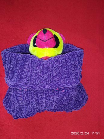 Детский снуд, шарф, хомут
