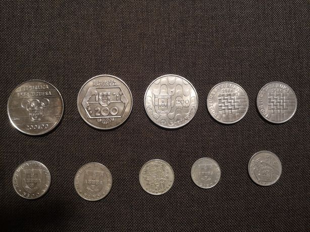 Moedas numismática