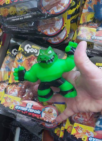 Гуджитсу игрушка Тянущаяся фигурка Goo Jit Zu антистресс 9 видов