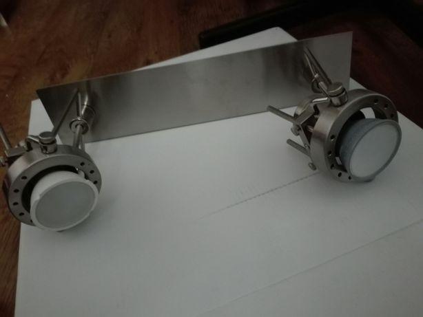 Lampy srebrne (dwie)