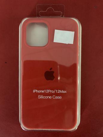 Чехол на Iphone 12/12max Silicone