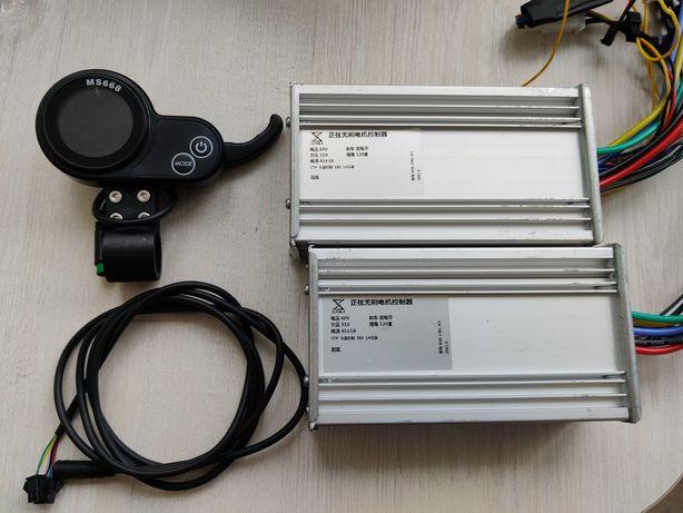 Синусные контроллеры 60v 45a для электросамоката