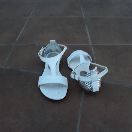 sandały białe/komunijne