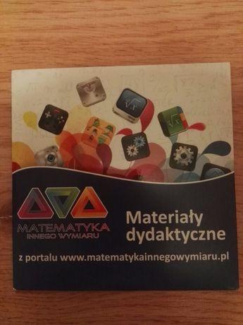 Płyta CD materiały dydaktyczne matematyla innego wymiaru