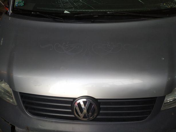Maska pokrywa silnika VW T5