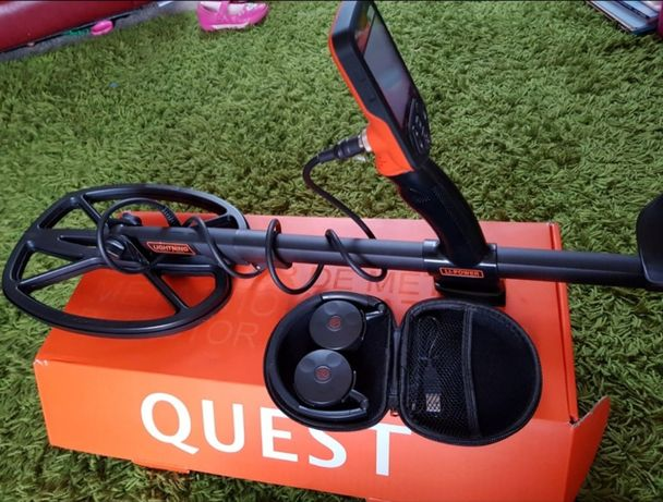Металлоискатель Quest Q40 металошукач, металлодетектор