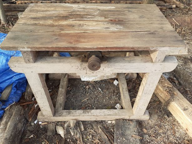 Stół cyrkularki z wałem, cyrkularka