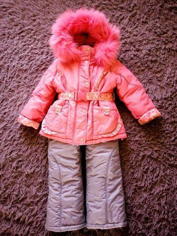 Детский комбінезон,куртка для девочки