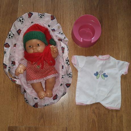 Lalka/lala/bobas 35 cm/baby born/reborn/mini ubranka akcesoria zestaw