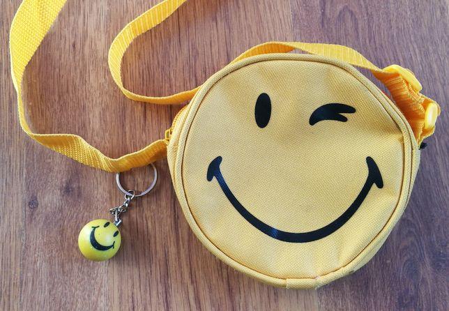 Torebka smile breloczek