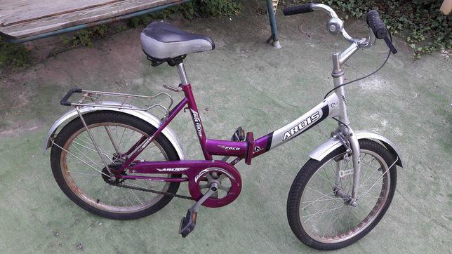 Велосипед складной подростковый.