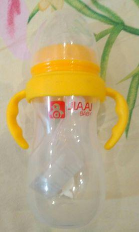 Бутылочка-поильник с соской 12+ новая