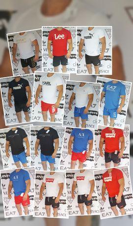 Okazja krótkie spodenki męskie jakość Premium koszulki męskie jakość