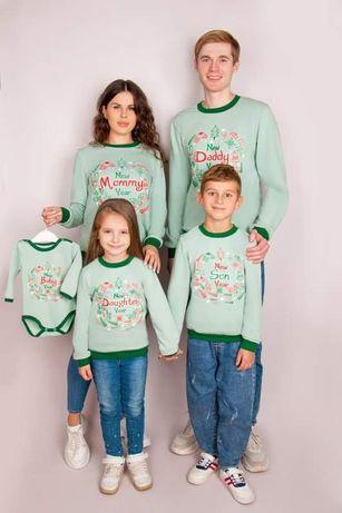 Джемперы в стиле Family look