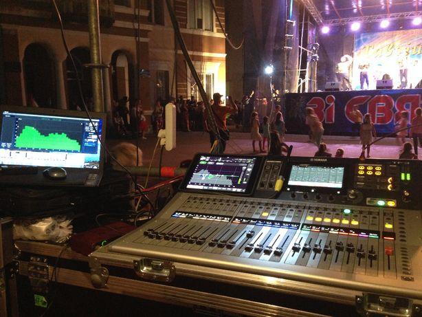 Аренда ( прокат ) звуковой апаратуры , света и сцены..